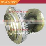 Jiangxi Jiujiang Qiyuan factroy sale auto fan clutch for XIAMEN KING LONG bus/coach DC24V 50W