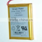 Inquiry about Great Power Lithium polymer Battery 3.7v 4400mAh - GSP055771