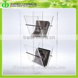 DDE-B181 Trade Assurance Chinese Factory Produce SGS Test Acrylic Magazine Rack Wholesale