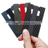 Carbon Fiber Money Clip Credit Card Holder Slim Front Pocket Minimalist Wallet-Emergency Bottle Opener