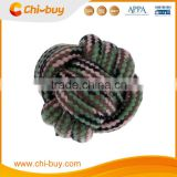 Chi-buy Best Nuts for Knots Ball Medium Dog Toy,2.6-Inch,in Camouflage Color Dog Toys Free Shipping on order 49usd