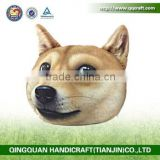 QQ Pet Factory Wholesale Decorative Bolster Pillows & Dog Face Pillow Cover & Big Inflatable Pillow