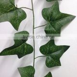 Green artificial ivy vine ivy garland wedding/christmas decoration vines garland artificial plastic vines