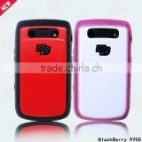 2 in 1 mobile phone case for Blackberry 9700