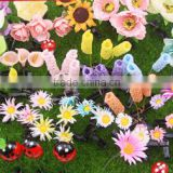 2015 Hot Selling Korea Style Professional Gift Funny Artificial Plants Hairpins