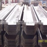 Steel beam sizes SYW295/SY295 hot rolled steel sheet pile 600*180 400*100 400*125 400*170 600*210