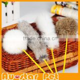 Rabbit Hair Pet Cat Stick Toys