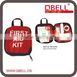 [QBELL]Hot sale emergency medical First Aid Kit/Bag for travel/outdoor/family/car/hotel/school