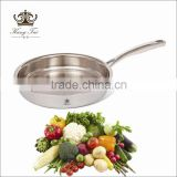 eco-friendly non stick no coating frying pan titanium cookware