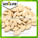 Top sales raw edible seeds Shine Skin Pumpkin Seeds (light yellow color) with best price from China