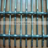 SGS AND ISO crimped wire mesh panel for indoor decoration / granary fence / pig breed