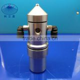 New flat spray air atomizing nozzle