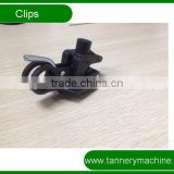cow cattle buffalo leather toggling machine nylon clips