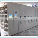 2016 Office large capacity closed high density steel mobile file storage cabinet for box files/mobile shelving
