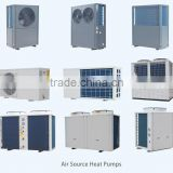 CE certificate air source heat pump for heating system/ hot water heat pump/swimming pool heat pump