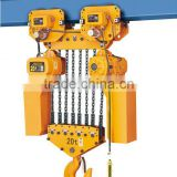 20ton Heavy duty electric chain hoist