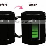 2015 Heat sensitive color changing mugs