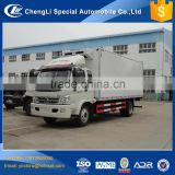 Cheap price 5 ton refrigerated truck, ice cream truck manufacturer, refrigerator box truck malaysia
