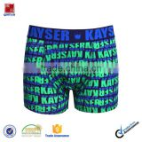 Custom All Over Printed Boexer Short Men Underwear Cotton Spandex/Mens Underwear Boxer Briefs