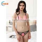 HSZ-G8866 Absolutely Gorgeous Indian Girls In Fashionable Sexy Bra And Panty New Style 2017 Custom Underwear Women Lady Lingerie
