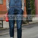 Runwaylover EY0635P Hot Sale 2017 Ladies Fashion Hole Denim Overalls