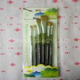 Hot sale professional 6pcs sets drawing paint brushes new fashion for children and studets use