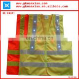 flashing lights reflective high visibility highway safety jacket ,highway safety jacket with flashing led lights