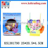 plastic toys electrical fishing game