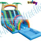 hot sale inflatable water slides for beach