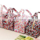 Wholesale canvas cooler lunch bag aluminium foil inside in stock