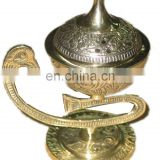 BRASS INCENSE BURNER EMBOSED