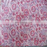5 yards Indian Hand Made hand block print cotton fabric sanganeri print fabric