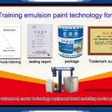 emulsion paint technical formula