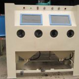Double station manual sandblasting machine,Surface treatment equipment