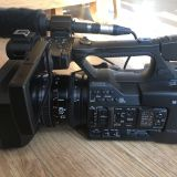 Sony PXW-160 Camcorder XDCAM x25 ZOOM 2BATTS + EXT MIC