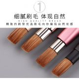Portable Mini Lip Brush Cosmetics Retractable Brush