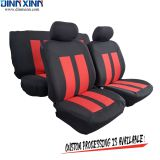 DinnXinn Cadillac 9 pcs full set Genuine Leather baby car seat cover with zipper supplier China