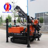 FY180 crawler pneumatic water well drilling rig/air compress drill rig