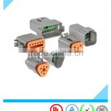 Electrical plastic DT series 3 pin 8 pin 12 pin male female electrical auto plastic deutsch connector