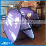 Horizontal/Vertical/Circle/Triangle/Tower Popular Pop Up Portable Outdoor Stand Up Advertising Board For Sale