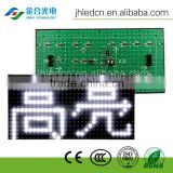 Jinhe High brightness professional P10 semi-outdoor single red/white/blue/green/yellow led panel