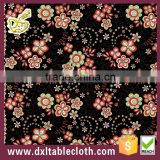 promotional gift custom brand colorful abstract printed plastic tablecloth
