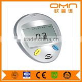 CE approved home use free code digital diabetic Cholesterol blood glucose meter & test strip