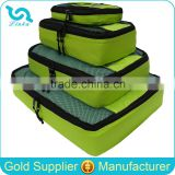 High Quality Ripstop Nylon 4 Piece Packing Cubes Luggage Packing Cubes                                                                         Quality Choice