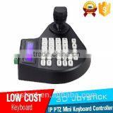 3 Axis 3D Dimension Joystick CCTV Mini Keyboard Controllers for PTZ Speed Dome Camera Support Pelco-D Pelco P protocol
