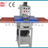 Pneumatic Double Location Silde Tyle T-Shirt Heat Press Transfer Machine with Size of 40*50