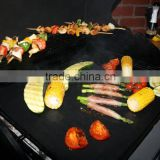Food grade FDA LFGB Aprroved Barbecue grill mat Easy Clean Non stick grill mat