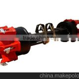 16T German Spoke Axle For Trucks And Trailers