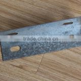 Audemar 2.5MM Zinc Thickness Galvanized Sheet High Strength Structual Metal Roofing Bracket                                                                         Quality Choice