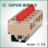 JF5 2.5mm fuse type din rail terminal